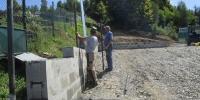 Výstavba parkoviska na cintoríne