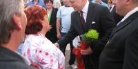 Stretnutie starostky obce s predsedom vlády SR