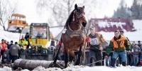 Náš občan Štefan Roman na pretekoch v obci NOVOŤ na Orave